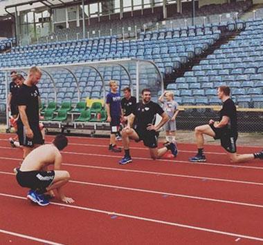 Trainingssituation HK Malmö